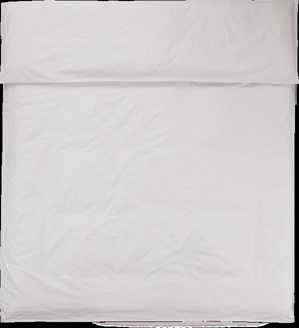 NOORA Deckenbezug 200x200 pearl grey