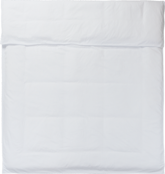 NOORA Deckenbezug 155x220 white