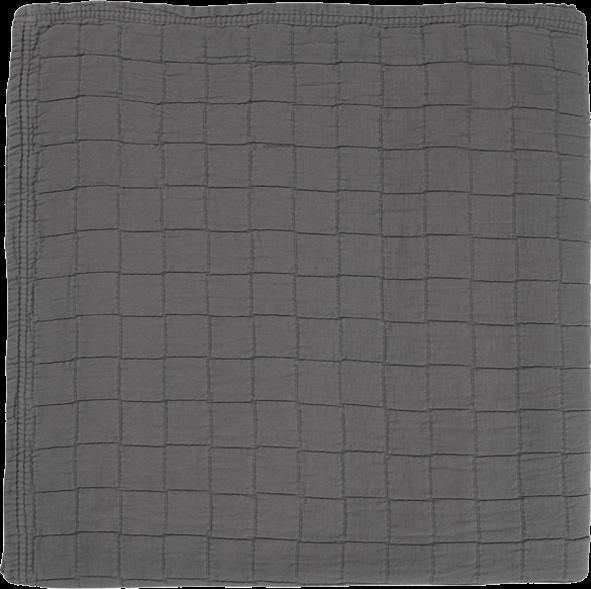 AAVA Tagesdecke 260x260 deep grey