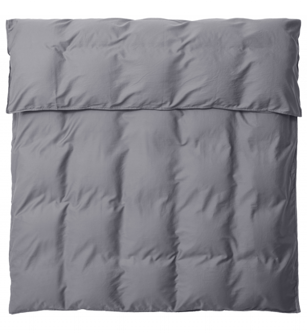 SAARA Deckenbezug 135x200 deep grey