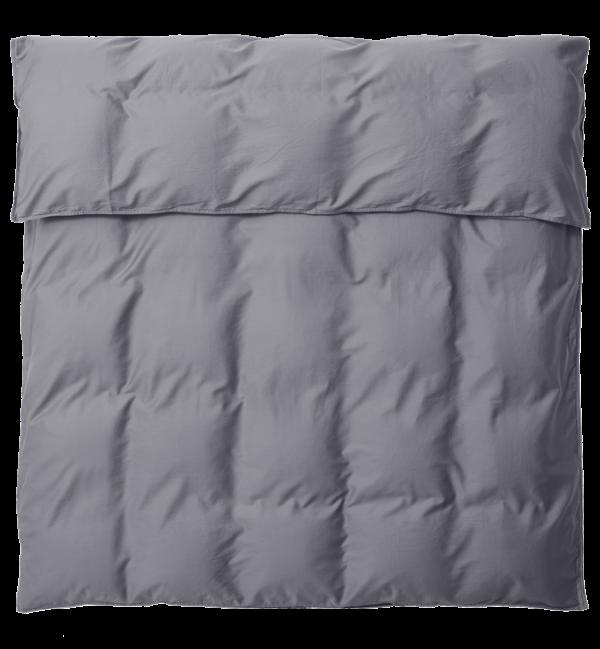 SAARA Deckenbezug 220x220 deep grey