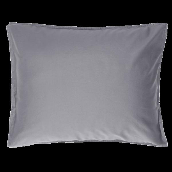 SAARA Kissenbezug 80x80 deep grey