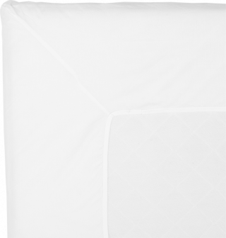 NOORA Topperlaken 90x200 white