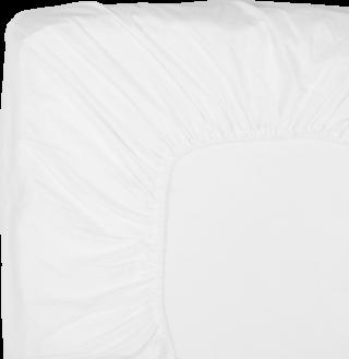 NOORA Spannbettlaken 100x210 white