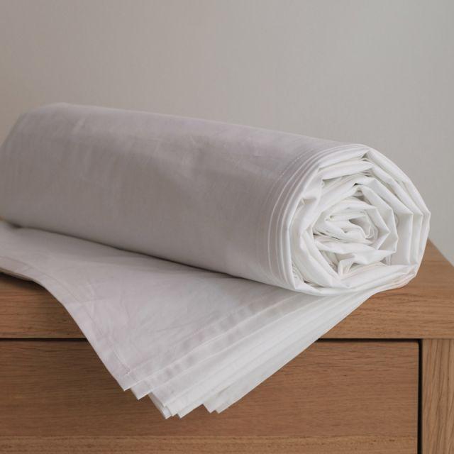 NOORA Bettlaken 270x270 white