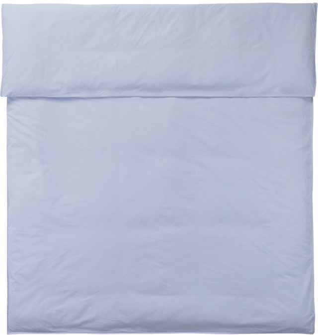 NOORA Deckenbezug 150x210 light blue