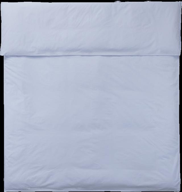 NOORA Deckenbezug 220x220 light blue