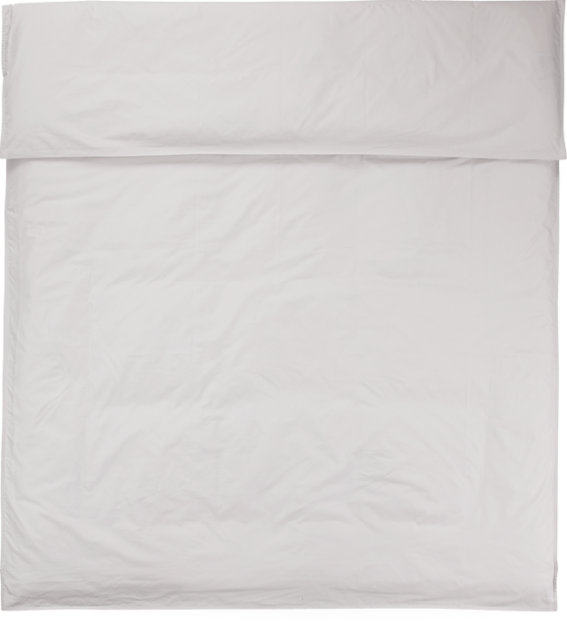 NOORA Deckenbezug 135x200 pearl grey