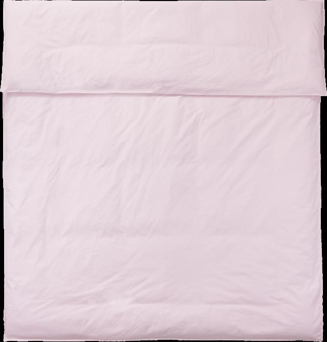 NOORA Deckenbezug 220x220 rose