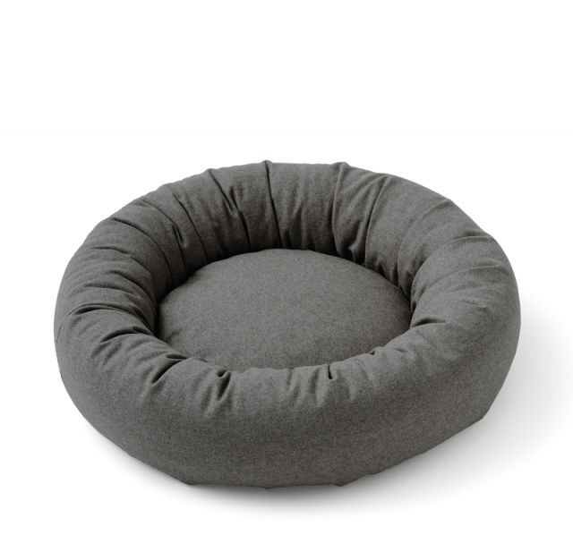 Dogbed Small WOOLY 7 Graphite