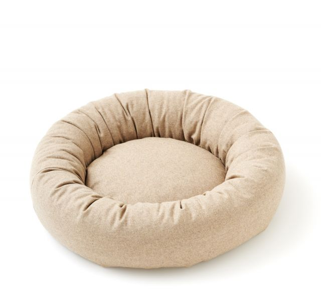 Dogbed Small WOOLY 16 Sand
