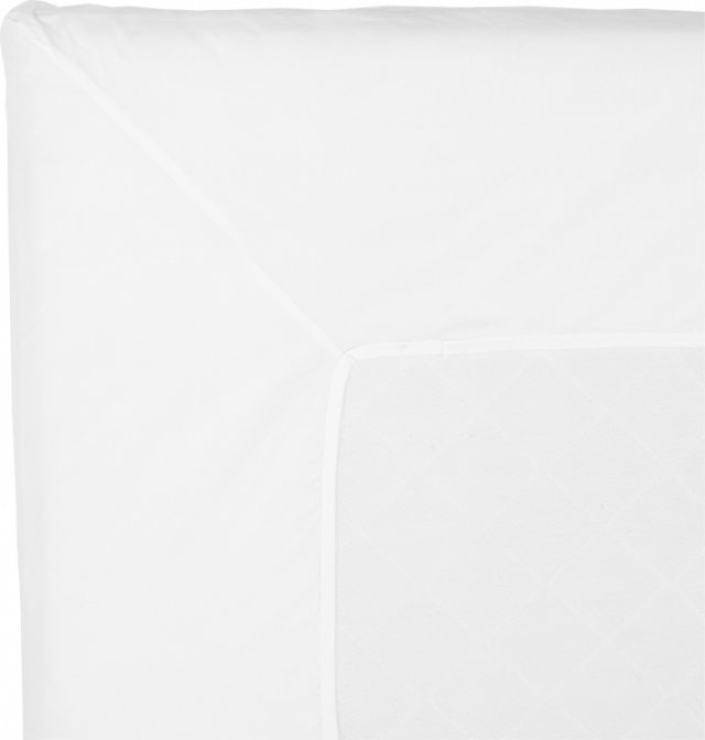NOORA Topperlaken 210x210 white