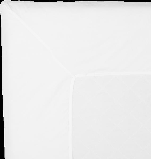 NOORA Topperlaken 160x210 white