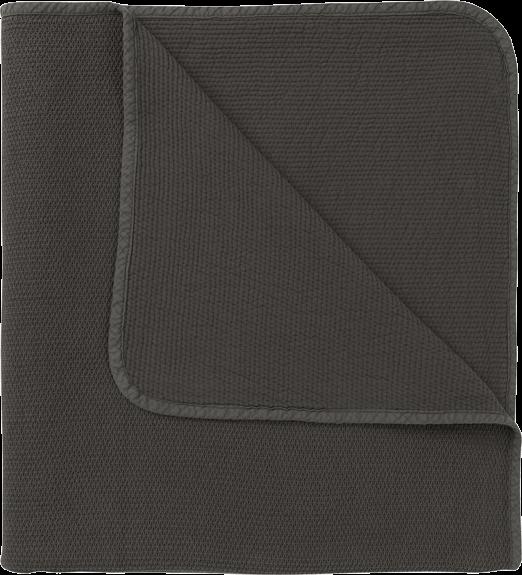 ALMA Tagesdecke 260x260 Lava Grey