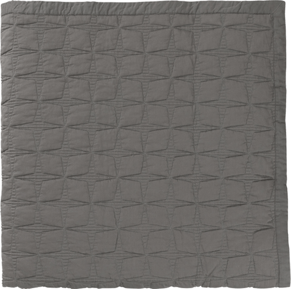 TUIKE Tagesdecke 260x260 Deep Grey